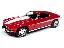 Chevrolet  - Camaro 1971 red - 1:18 - Auto World - AMM1197 - AMM1197 | The Diecast Company