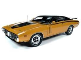 Dodge  - Charger 1971 butterscotch - 1:18 - Auto World - AMM1210 - AMM1210 | The Diecast Company