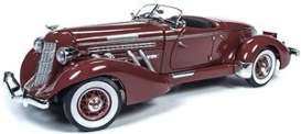 Auburn  - Speedster 1935 burgandy - 1:18 - Auto World - 262 - AW262 | The Diecast Company