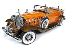 Cadillac  - V16 Sports 1932 orange - 1:18 - Auto World - 264 - AW264 | The Diecast Company