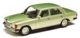 Mercedes Benz  - 230E 1977 light green - 1:18 - KK - Scale - 180353 - kkdc180353 | The Diecast Company