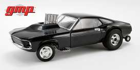 Ford  - Mustang 1969 black - 1:18 - GMP - GMP18932 - gmp18932 | The Diecast Company