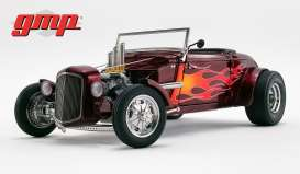 Hot Rod  - Roadster 1934 red - 1:18 - GMP - GMP18926 - gmp18926 | The Diecast Company