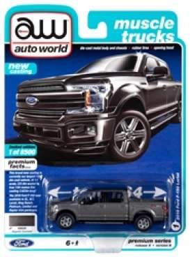 Ford  - F150 black - 1:64 - Auto World - SP029B - AWSP029B | The Diecast Company