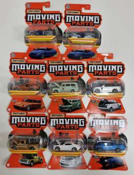 Assortment/ Mix  - 2020 various - 1:64 - Matchbox - FWD28 - matFWD28-968H | The Diecast Company
