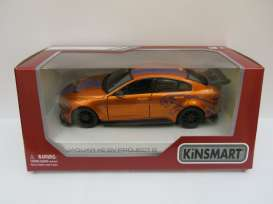 Jaguar  - XE SV Project 8 2018 orange - 1:36 - Kinsmart - 5416WF - KT5416WFo | The Diecast Company