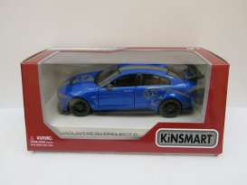 Jaguar  - XE SV Project 8 2018 blue - 1:36 - Kinsmart - 5416WF - KT5416WFb | The Diecast Company