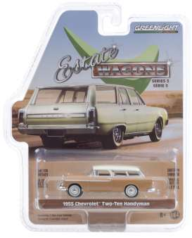 Chevrolet  - Two-Ten Handyman 1955 tan/ivory - 1:64 - GreenLight - 29990A - gl29990A | The Diecast Company