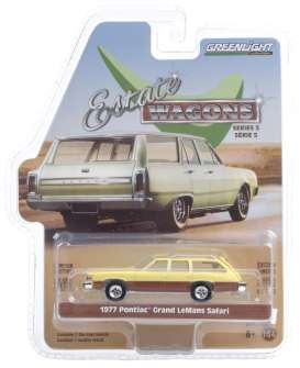 Pontiac  - Grand 1977 yellow - 1:64 - GreenLight - 29990E - gl29990E | The Diecast Company