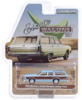 Mercury  - Grand 1983 blue - 1:64 - GreenLight - 29990F - gl29990F | The Diecast Company