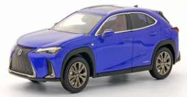 Lexus  - UX250 blue - 1:43 - Kyosho - 03696bl - kyo3696bl | The Diecast Company