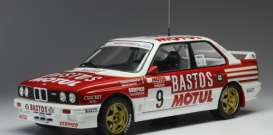 BMW  - M3 E30 1988 red/white - 1:18 - IXO Models - rmc040B - ixrmc040B | The Diecast Company
