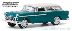 Chevrolet  - Nomad 1955 blue - 1:64 - GreenLight - 37200A - gl37200A | The Diecast Company