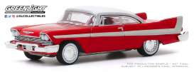 Plymouth  - Fury 1958 red - 1:64 - GreenLight - 37200B - gl37200B | The Diecast Company