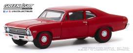 Chevrolet  - Copo Nova 1968 red - 1:64 - GreenLight - 37200C - gl37200C | The Diecast Company