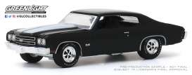 Chevrolet  - Chevelle 1970 black - 1:64 - GreenLight - 37200D - gl37200D | The Diecast Company