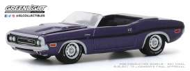 Dodge  - Challenger 1970 purple - 1:64 - GreenLight - 37200E - gl37200E | The Diecast Company