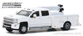 Chevrolet  - Silverado 2016 white - 1:64 - GreenLight - 46040A - gl46040A | The Diecast Company