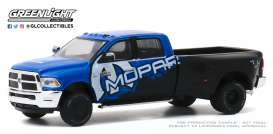 Ram  - 3500 2017 black/blue - 1:64 - GreenLight - 46040C - gl46040C | The Diecast Company