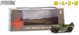 Willys  - MB Jeep 1942  - 1:43 - GreenLight - 86589 - gl86589 | The Diecast Company