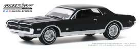 Mercury  - Cougar 1968 black - 1:64 - GreenLight - 13270B - gl13270B | The Diecast Company