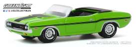 Dodge  - Challenger 1970 green - 1:64 - GreenLight - 13270D - gl13270D | The Diecast Company