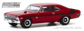 Chevrolet  - Nova Yenko 1971 orange - 1:64 - GreenLight - 13270E - gl13270E | The Diecast Company