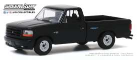Ford  - F-150 1993 black - 1:64 - GreenLight - 13270F - gl13270F | The Diecast Company