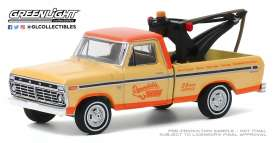 Ford  - F100 1973 cream/orange - 1:64 - GreenLight - 35160B - gl35160B | The Diecast Company