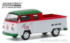 Volkswagen  - Type 2 1979 white/red/green - 1:64 - GreenLight - 35160C - gl35160C | The Diecast Company
