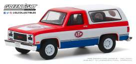 GMC  - Jimmy 1990 red/white/blue - 1:64 - GreenLight - 35160D - gl35160D | The Diecast Company