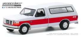 Ford  - F-150 1994 white/red - 1:64 - GreenLight - 35160E - gl35160E | The Diecast Company