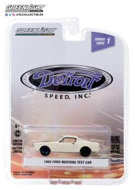 Ford  - Mustang 1966 white - 1:64 - GreenLight - 39040A - gl39040A | The Diecast Company