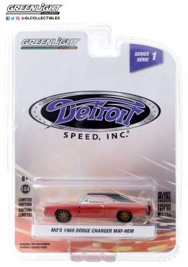 Dodge  - Charger 1969 red - 1:64 - GreenLight - 39040C - gl39040C | The Diecast Company
