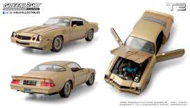 Chevrolet  - Camaro Z28 1979 gold/brown - 1:18 - GreenLight - 13573 - gl13573 | The Diecast Company