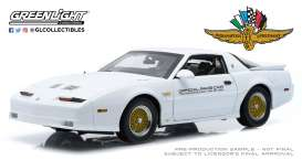 Pontiac  - Turbo 1989 white - 1:18 - GreenLight - 13576 - gl13576 | The Diecast Company