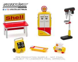 diorama Accessoires - yellow/white/red - 1:64 - GreenLight - 16060C - gl16060C | The Diecast Company