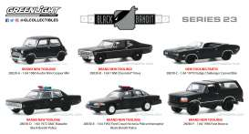 Assortment/ Mix  - black - 1:64 - GreenLight - 28030 - gl28030 | The Diecast Company