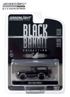 Ford  - Bronco 1994 black - 1:64 - GreenLight - 28030F - gl28030F | The Diecast Company