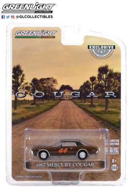 Mercury  - Cougar 1967 brown - 1:64 - GreenLight - 30183 - gl30183 | The Diecast Company