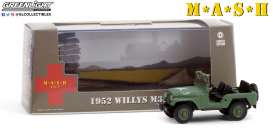 Willys  - M38 A1 1952  - 1:43 - GreenLight - 86590 - gl86590 | The Diecast Company