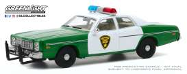 Plymouth  - Fury 1975  - 1:43 - GreenLight - 86595 - gl86595 | The Diecast Company