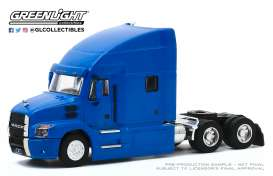 Mack  - Anthem Truck 2019 blue - 1:64 - GreenLight - 45100B - gl45100B | The Diecast Company