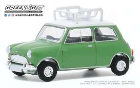 Austin Mini - Cooper S 1965 green - 1:64 - GreenLight - 47080A - gl47080A | The Diecast Company