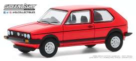 Volkswagen  - Golf GTI 1982 red - 1:64 - GreenLight - 47080B - gl47080B | The Diecast Company