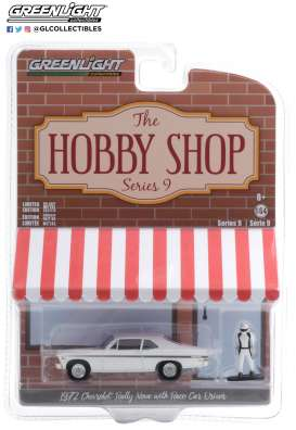 Chevrolet  - Rally Nova 1972 white/black - 1:64 - GreenLight - 97090C - gl97090C | The Diecast Company
