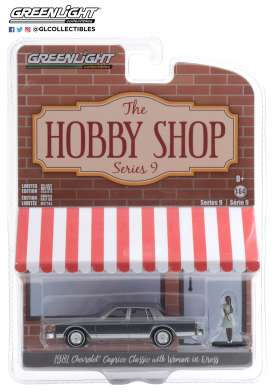 Chevrolet  - Caprice  1981 grey/blue - 1:64 - GreenLight - 97090D - gl97090D | The Diecast Company