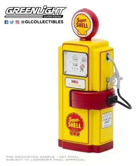 Accessoires diorama - 1948 yellow/red - 1:18 - GreenLight - 14080 - gl14080A | The Diecast Company
