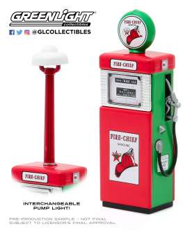 Accessoires diorama - 1951 red/white - 1:18 - GreenLight - 14080 - gl14080B | The Diecast Company