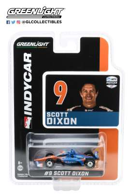 Honda  - 2020 blue/orange - 1:64 - GreenLight - 10875 - gl10875 | The Diecast Company
